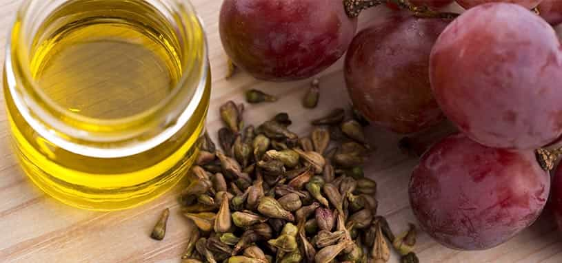 Grape marc to cooking oil